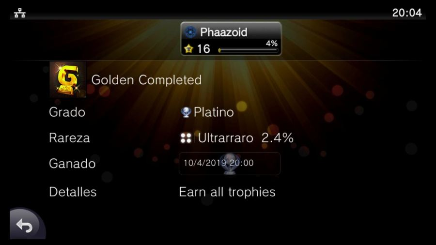 Platinum Trophy